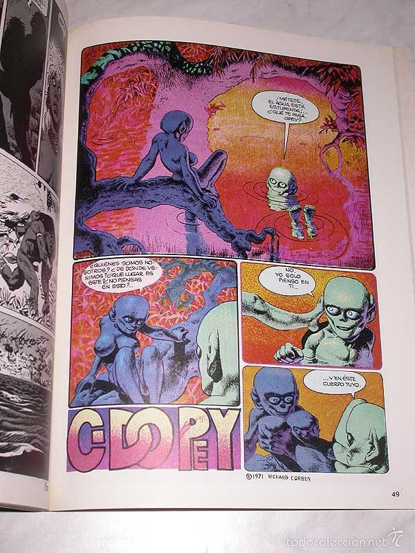 Cómics: UNDERGROUND. RICHARD CORBEN. OBRAS COMPLETAS Nº 3. TOUTAIN, 1985. ++++ - Foto 3 - 57915199