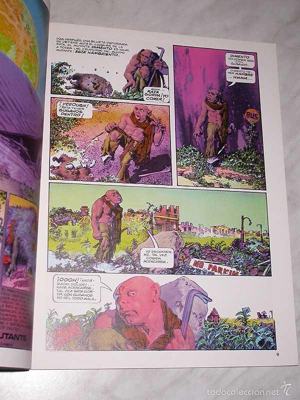 Cómics: MUNDO MUTANTE. RICHARD CORBEN, JAN STRNAD. OBRAS COMPLETAS Nº 8. TOUTAIN, 1989. 8 PÁGINAS EXTRA. - Foto 2 - 57915390