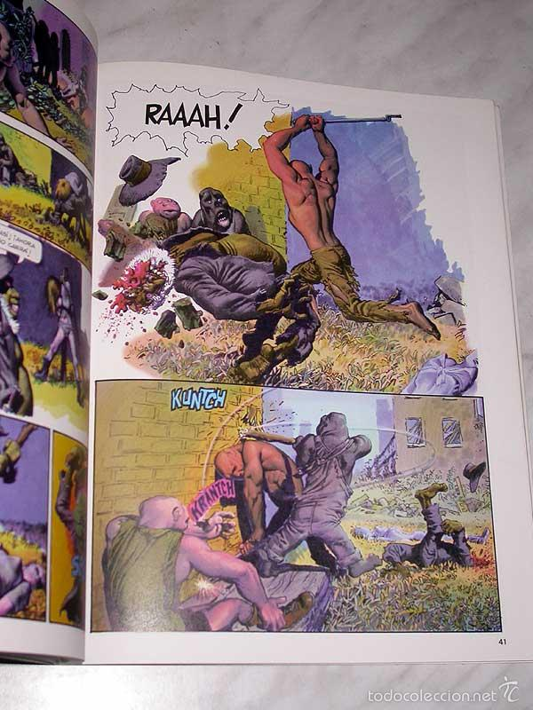Cómics: MUNDO MUTANTE. RICHARD CORBEN, JAN STRNAD. OBRAS COMPLETAS Nº 8. TOUTAIN, 1989. 8 PÁGINAS EXTRA. - Foto 3 - 57915390