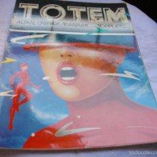 Cómics: COMICS - PARA ADULTOS- TOTEM Nº 44 -EDICIONES TOUTAIM- VER FOTOS - MIRAR TODOS MIS LOTES DE TEBEOS. Lote 58091713