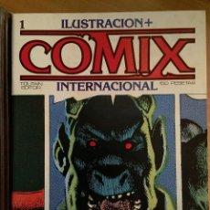 Cómics: COMIX INTERNACIONAL: COLECCIÓN CASI COMPLETA (FALTAN 2) + 5 TAPAS Y TOTALMENTE ¡¡¡NUEVOS!!!. Lote 58282090