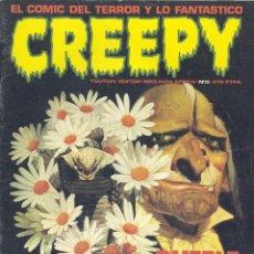 Cómics: CREEPY Nº5. SEGUNDA ÉPOCA. JOSÉ ORTIZ, BROCAL REMOHI, LUIS BERMEJO, JEFF JONES, COROMINAS, MAROTO.. . Lote 58517400