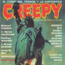 Comics: CREEPY Nº7. SEGUNDA ÉPOCA. RICHARD CORBEN, MARTÍN SALVADOR, ESTEBAN MAROTO, BROCAL REMOHI, BEA.... Lote 58517509