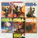 Cómics: 1984 - LOTE DE 7 CÓMICS - NºS 24-25-26-28-33 + ALMANAQUE 1984 + TOMO EXTRA Nº 5 - TOUTAIN EDITOR. Lote 58545182
