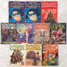 Cómics: COMIX INTERNACIONAL - LOTE DE 10 CÓMICS - NºS 3-3-19-22-23-28-31-37-58-59 - TOUTAIN EDITOR - 1980-85. Lote 58547179