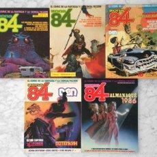 Cómics: ZONA 84 - LOTE DE 5 CÓMICS - Nº 72 + 3 TOMOS ANTOLOGÍA + ALMANAQUE 1986 (11 EN TOTAL) - TOUTAIN. Lote 58547609