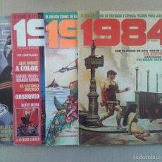 Cómics: LOTE REVISTA 1984: TOUTAIN EDITOR. INCLUYE LOS NÚMEROS 5, 17, 41 Y 59. Lote 58594517