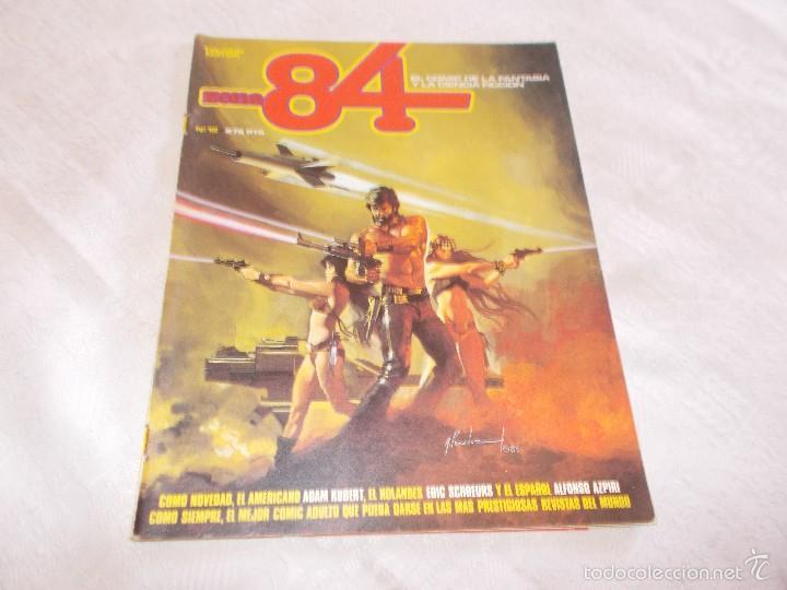 ZONA 84 Nº 12 (Tebeos y Comics - Toutain - Zona 84)