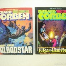 Cómics: RICHARD CORBEN OBRAS COMPLETAS Nº 4 Y 7 TOUTAIN EDITOR. Lote 59775368