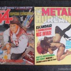 Comics : LOTE 2 EJEMPLARES TOTEM COMIX ESPECIAL CONCURSO + METAL HURLANT SADOMASOQUISMO.. Lote 59928327
