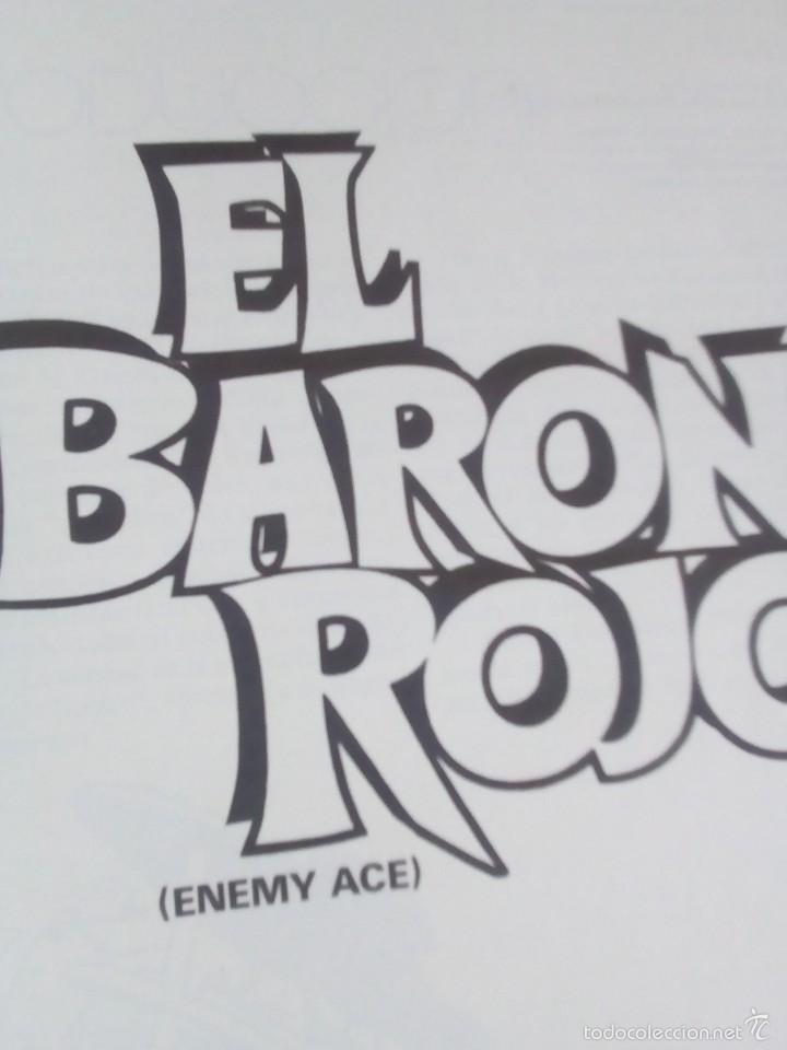 Cómics: EL BARON ROJO ENEMIGO ACE NUEVO AÑO 1984 - Foto 3 - 60222467