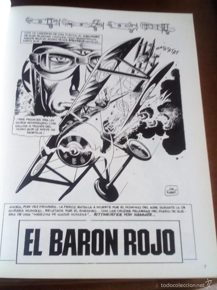 Cómics: EL BARON ROJO ENEMIGO ACE NUEVO AÑO 1984 - Foto 4 - 60222467