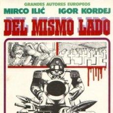 Cómics: DEL MISMO LADO: GRANDES AUTORES EUROPEOS: TOUTAIN. Lote 60966527