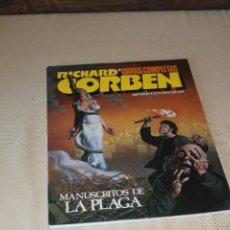 Comics : RICHARD CORBEN OBRAS COMPLETAS Nº 9 MANUSCRITOS DE LA PLAGA TOUTAIN. Lote 236306705