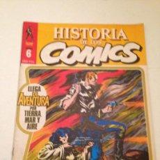 Cómics: HISTORIA DE LOS COMICS Nº 6. TOUTAIN 1982. Lote 61037195