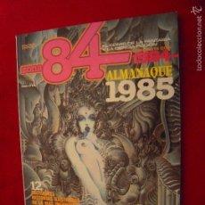 Comics : ZONA 84 - ALMANAQUE 1985 - RUSTICA. Lote 61189571