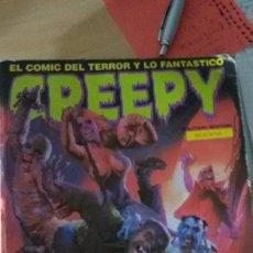 Cómics: EL COMIC DEL TERROR Y LO FANTASTICO CREEPY TOUTAIN EDITOR - NÚMEROS 69, 70, 71 Y 72 . Lote 61225099
