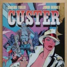 Fumetti: CUSTER - TRILLO Y BERNET - TOUTAIN EDITOR / 1987. Lote 61548872