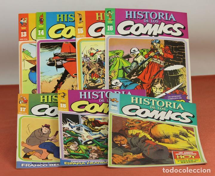 7996 - HISTORIA DE LOS COMICS. 7 EJEMPLARES(VER DESCRIP). COMA. EDIT. TOUTAIN. 1982/83. (Tebeos y Comics - Toutain - Otros)