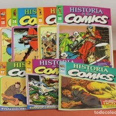 Cómics: 7996 - HISTORIA DE LOS COMICS. 7 EJEMPLARES(VER DESCRIP). COMA. EDIT. TOUTAIN. 1982/83.. Lote 61744036