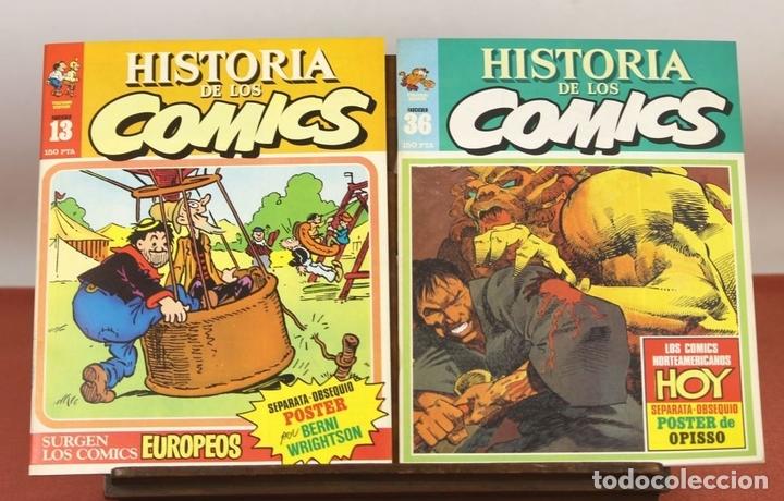 Cómics: 7996 - HISTORIA DE LOS COMICS. 7 EJEMPLARES(VER DESCRIP). COMA. EDIT. TOUTAIN. 1982/83. - Foto 2 - 61744036