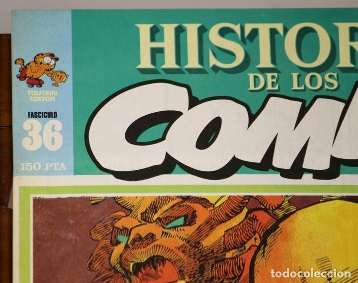 Cómics: 7996 - HISTORIA DE LOS COMICS. 7 EJEMPLARES(VER DESCRIP). COMA. EDIT. TOUTAIN. 1982/83. - Foto 4 - 61744036