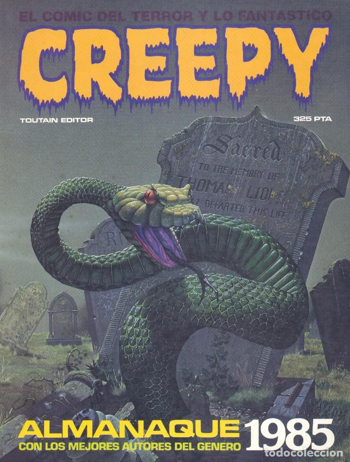 CREEPY. ALMANAQUE 1985. TOUTAIN EDITOR (Tebeos y Comics - Toutain - Creepy)