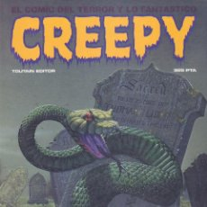Cómics: CREEPY. ALMANAQUE 1985. TOUTAIN EDITOR. Lote 61939212
