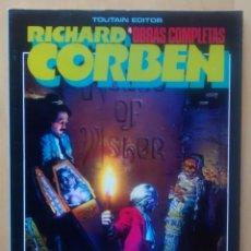 Cómics: RICHARD CORBEN OBRAS COMPLETAS Nº4 - LA CAÍDA DE LA CASA USHER Y OTROS RELATOS DE EDGAR ALLAN POE.. Lote 61974440
