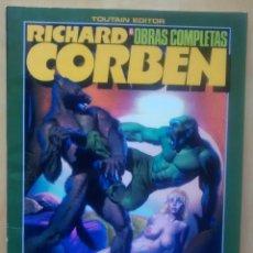 Cómics: RICHARD CORBEN OBRAS COMPLETAS Nº6 - ROWLF Y OTRAS HISTORIAS. Lote 61975268