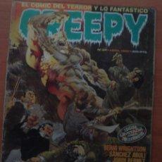 Cómics: CREEPY Nº 34. RICHARD CORBEN, WRIGHTSON, JORDI BERNET, CARLOS TRILLO, MANDRAFINA. EDITORIAL TOUTAIN.. Lote 62726076