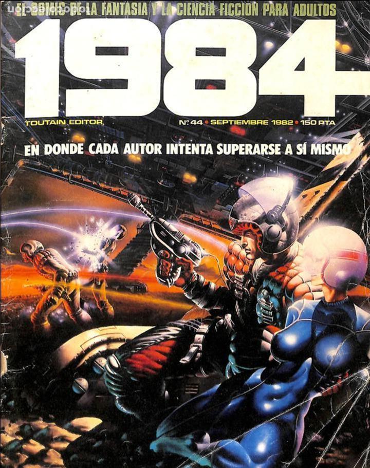 COMIC 1984 Nº 44 TOUTAIN EDITOR (Tebeos y Comics - Toutain - 1984)