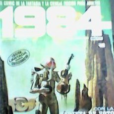 Cómics: 1984 Nº 57 - CINCUENTAYSIETE - TOUTAIN - CON BOLETÍN DE VOTOS -. Lote 64065579