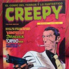 Cómics: CREEPY EXTRA Nº 8 -CON :TORPEDO 1936 JORDI BERNET -VAMPIRELLA -DRACULA-MIRAMOS OFERTAS. Lote 64540943