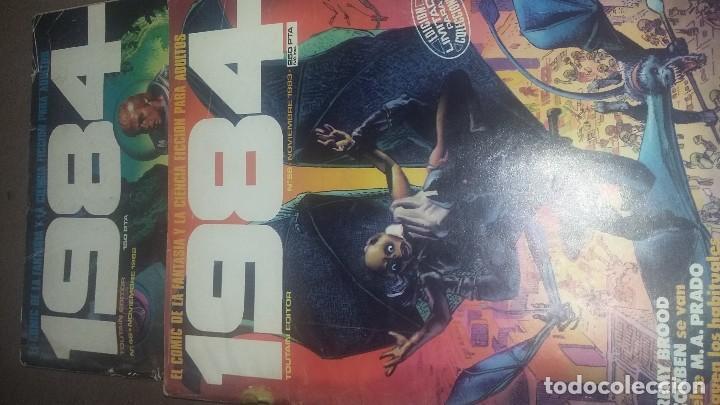 1984, NUMEROS 46 Y 58 (Tebeos y Comics - Toutain - 1984)