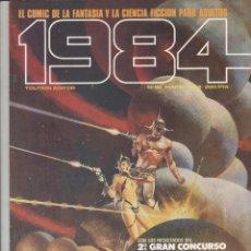 Cómics: 1984 N.º 62 - TOUTAIN. Lote 66134233