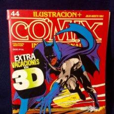 Cómics: COMIX INTERNACIONAL Nº 44 - EXTRA VACACIONES EN 3D JULIO-AGOSTO 1984 26,5X20,5CMS. Lote 66221666