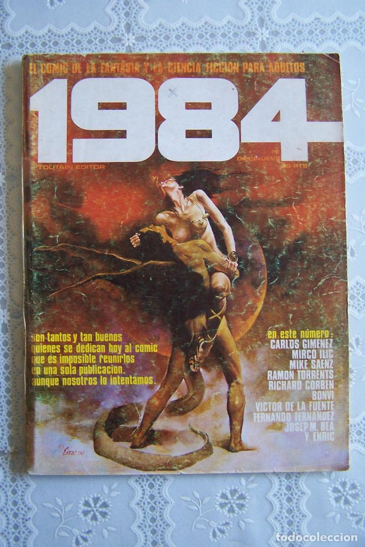 1984, TOUTAIN EDITOR. Nº 19 (Tebeos y Comics - Toutain - 1984)