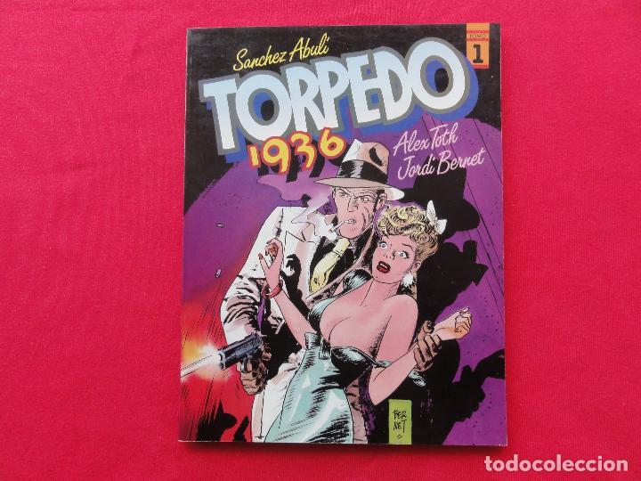 ALBUMES TOUTAIN. TORPEDO 1. ABULI-BERNET. C-13 (Tebeos y Comics - Toutain - Álbumes)