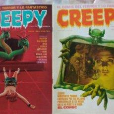 Cómics: CREEPY 25, 30. AÑO 1980. Lote 68908143