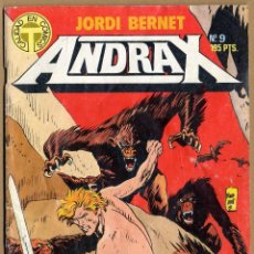 Cómics: ANDRAX NUMEROS 9 Y 11 - TOUTAIN EDITOR - 1988. Lote 69288733