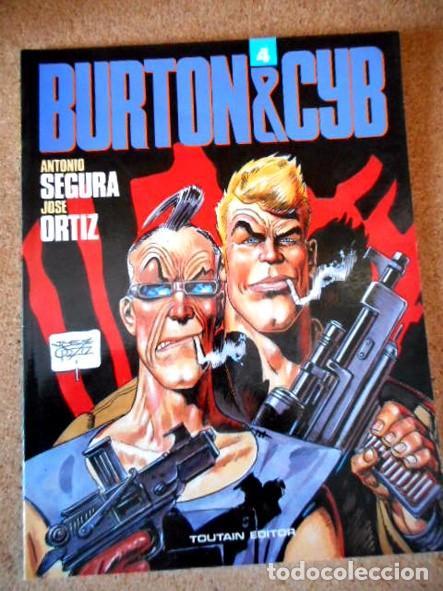 BURTON & CYB VOL.4 (Tebeos y Comics - Toutain - Álbumes)
