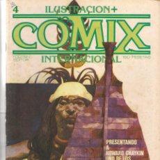 Comics - ILUSTRACION + COMIX INTERNACIONAL. Nº 4. TOUTAIN EDITOR. (ST/) - 71639739