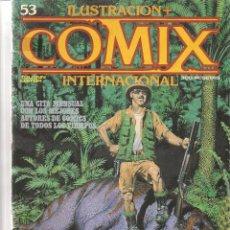 Comics - ILUSTRACION + COMIX INTERNACIONAL. Nº 53. TOUTAIN EDITOR. (ST/) - 71642375