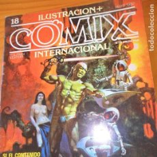 ILUSTRACION + COMIX INTERNACIONAL Nº 18 - WINSOR MCCAY, WILL EISNER, ALTUNA, KALUTA....