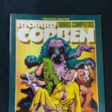 Cómics: OBRAS COMPLETAS - Nº 5 - RICHARD CORBEN - UNDERGROUND 2 - TOUTAIN - . Lote 75584291
