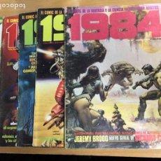 Cómics: 1984. EL COMIC DE LA FANTASÍA Y LA CIENCIA FICCION. 6 COMICS.. Lote 76531794