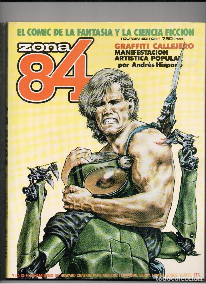 ZONA 84 RETAPADO Nº 12 (CON NºS 35,36 Y 37) (Tebeos y Comics - Toutain - Zona 84)