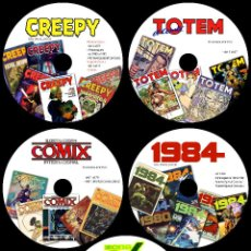 Cómics: COLECCION TOUTAIN - CREEPY - 1984 - ZONA84 - COMIX INT - TOTEM - 8 DVD'S - VAMPUS - VAMPIRELLA. Lote 140343234