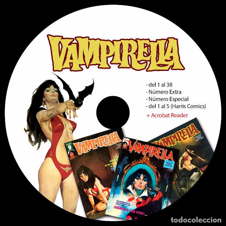 Cómics: COLECCION TOUTAIN - CREEPY - 1984 - ZONA84 - COMIX INT - TOTEM - 8 DVDS - VAMPUS - VAMPIRELLA - Foto 5 - 206973622